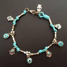 handmade bracelet designs images New brand designer gold color lucky handmade bracelet hamsa fatima jpg