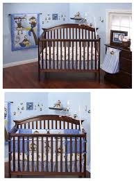 Boy Monkey Crib Bedding Blue Monkey Crib Bedding 10pc Baby Boy Infant Nursery