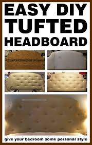 How To Make A Tufted Headboard Do It Yourself Tufted Headboard Diy Project Removeandreplace