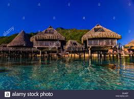 overwater bungalows hilton moorea lagoon resort island of moorea