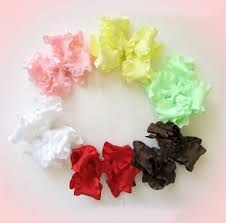 ribbon hair bow ruffle ribbons hip girl boutique llc free hairbow