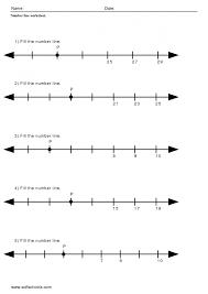 Number Worksheets Math Number Line Addition Worksheet Touch Math Worksheets Number