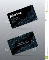 futuristic business card stock image image 35649091