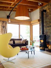 design your own home inside and out the new ranch home sunset magazine holly hunt egg chair and