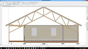 Home Designer Pro Cad How To Create A Scissor Truss In Any Version Of Home Designer Pro
