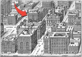 Chicago Fire Map by Phenix Building