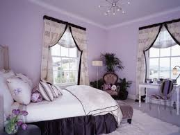 Bedroom Bed In Corner Bedroom Dazzling Soft Purple Bedrooms Wall Painted With White