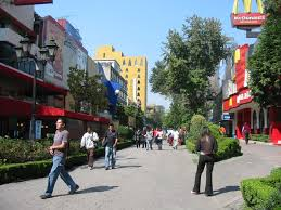 Mexico City Neighborhood Map by Mexico City City And Neighborhood Guide Trvl