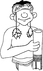 aboriginal coloring pages wecoloringpage