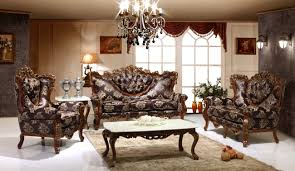 Furniture For Livingroom Divan Victorian Style Living Room Dark Red French Baroque