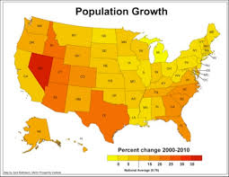 map of us states based on population creative class archive the state story growth without