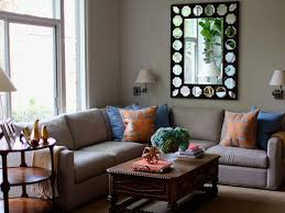 Blue And Black Living Room Decorating Ideas Orange And Blue Living Room Design Ideas