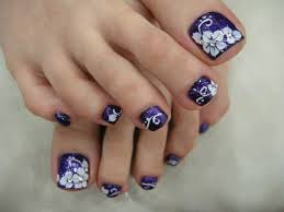 simple u0026 easy nail art designs for toenails with pictures