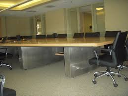 Global Boardroom Tables Custom Conference Table Birdseye Maple Boardroom Table