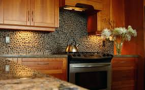 Copper Penny Tile Backsplash - tin tile backsplash ideas interior interesting copper tin tile