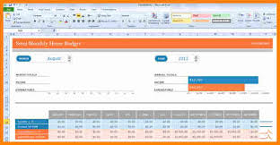 5 personal budget template excel 2010 budget template