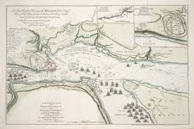St Lawrence River Map An Authentic Plan Of The River St Laurence From Sillery To The