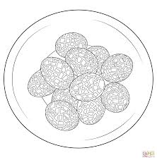mosaic coloring pages free coloring pages
