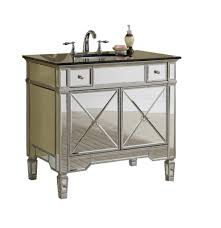 Mirrored Vanity With Drawers 36