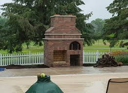 Pizza Oven Outdoor Fireplace by Blanchard Outdoor Fireplace U0026 Wood Fired Pizza Oven Brickwood Ovens