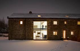 Quaker Barn Home Designs Historic Barn Reinvented Modern Home Eposed Trusses Eterior