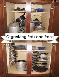 Kitchen Cabinet Organization Ideas Organizing Your Pots And Pans Jamonkey Atlanta