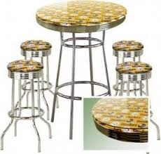 Bar Table And Stool Soda Fountain Style Bar Table Foter