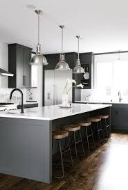mini makeover black is back in the kitchen coco kelley coco dark grey kitchen via anne sage