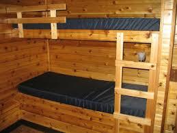 Cabin Bunk Beds Bunk Beds In Deluxe Cabin Picture Of Erie Koa Mckean Tripadvisor