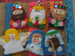the vintage umbrella preschool baby jesus projects