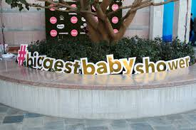 the 40th biggest baby shower los angeles big city moms