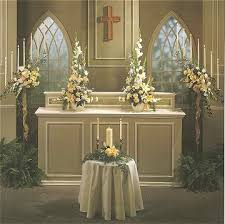 Altar Decorations Church Altar Wedding Decorations Tbrb Info