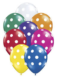polka dot balloons big polka dots wholesale balloon assortment