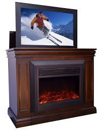 White Entertainment Center For Bedroom Furniture Conestoga Tv Lift Cabinet With Electric Fireplace Made
