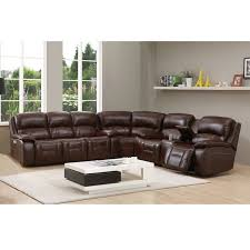 hydeline by amax westminster ii top grain leather brown power