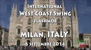 swing n milan milan 6 september 2014 flashmob west coast swing italy