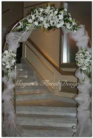 Wedding Arches Using Tulle Wedding Arche With Tulle With Decorations Tulle Arch Decor