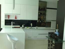 Malaysia Home Interior Design Furniture Charmingly Green Cabinets Design For Modern Kitchen