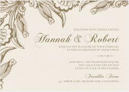 Wedding Invitation Card Template Word Invitation Wedding Dhavalthakur Com