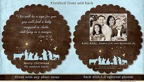 cardstock nativity card manger bethlehem