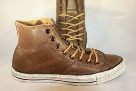 motorcycle sneakers men u0027s converse chuck taylor u0027motorcycle u0027 brown leather hi top
