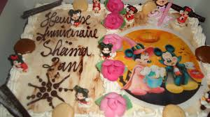Gateau Anniversaire Minnie by Anniversaire Mickey Minnie Mouse Youtube