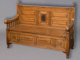arts u0026 crafts settle monks bench an interesting oak settle with a