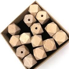 aliexpress com buy 50pcs diy germany beech geometric wood bead