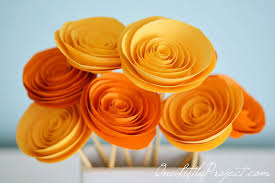 Easy Arts And Crafts For Kids With Paper - how to make rolled paper flowers