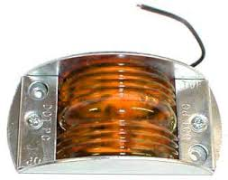 peterson steel armored clearance and side marker light 119a