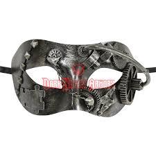 steunk masquerade mask silver steunk masquerade mask ka 1002 from armoury