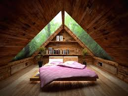 amusing small attic bed room idea with ceiling design idea plus
