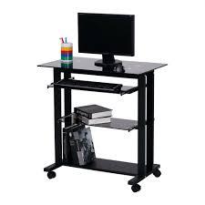 Staples Small Computer Desk Computer Desks Furniture Staples Computer Cart Desk Wheels Black