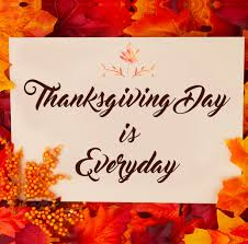 thanksgiving day is everyday grace theology press